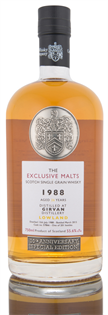 Girvan Scotch Single Grain 1988 26 Year The Exclusive...